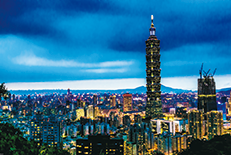 国内最大の都市であり、経済・政治・文化の中心地。509メートルの高さを誇る「台北101」は台湾のシンボルです。
